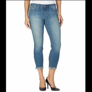 JESSICA SIMPSON Rolled Crop Skinny Jeans 8/29